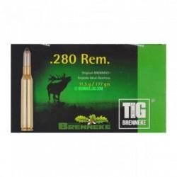 Munitions Brenneke TIG 280 REM 177 gr/11.5g