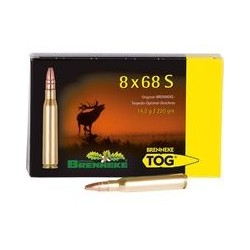 Munitions Brenneke TOG 8x68 S 14.2 g/220gr
