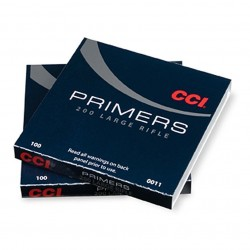 Amorces CCI 200 STD LARGE RIFLE PRIMER