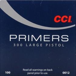 Amorces CCI 300 STD LARGE PISTOL PRIMER