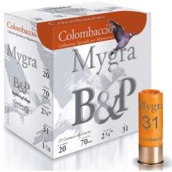B&P Colombaccio cal 20 Pb 5.5 nikelé