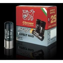 Chevrotines clever 36 g cal 12/70 Pb 2/0