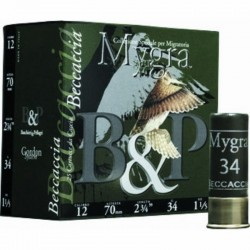 B&P mygra Becaccia 34 g cal 12/70