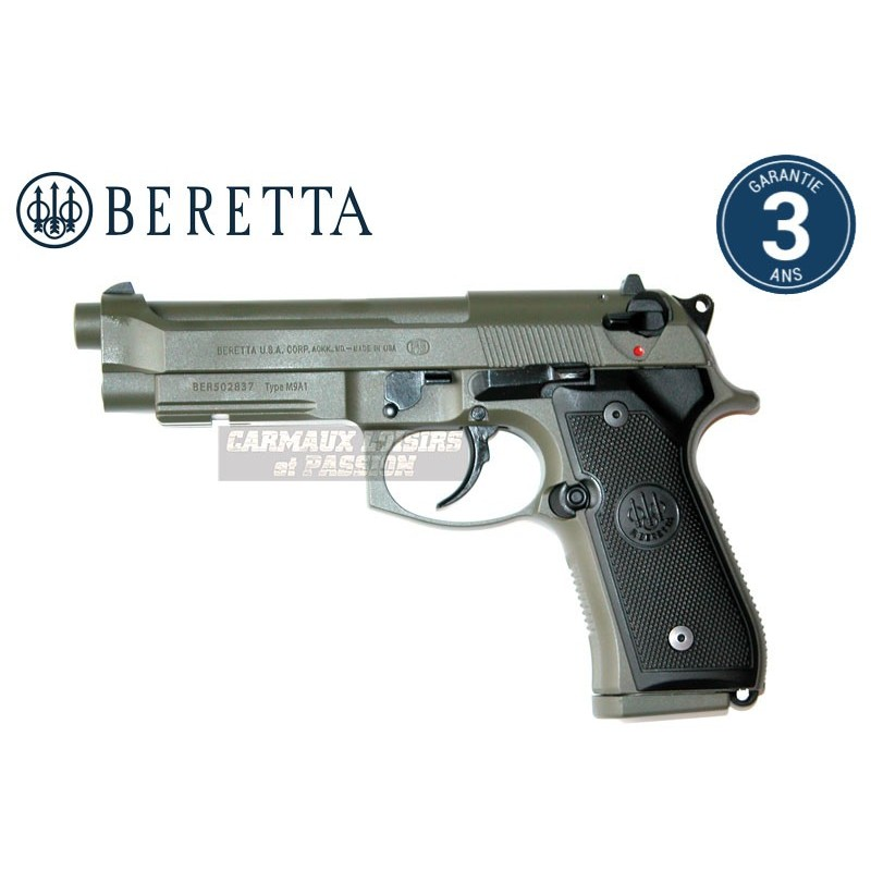 PISTOLET BERETTA M9A1 US SOCOM OD