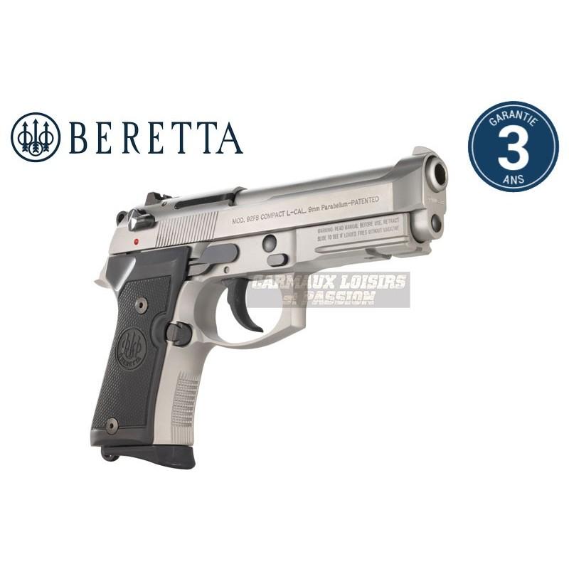 PISTOLET BERETTA M9A1 COMPACT INOX