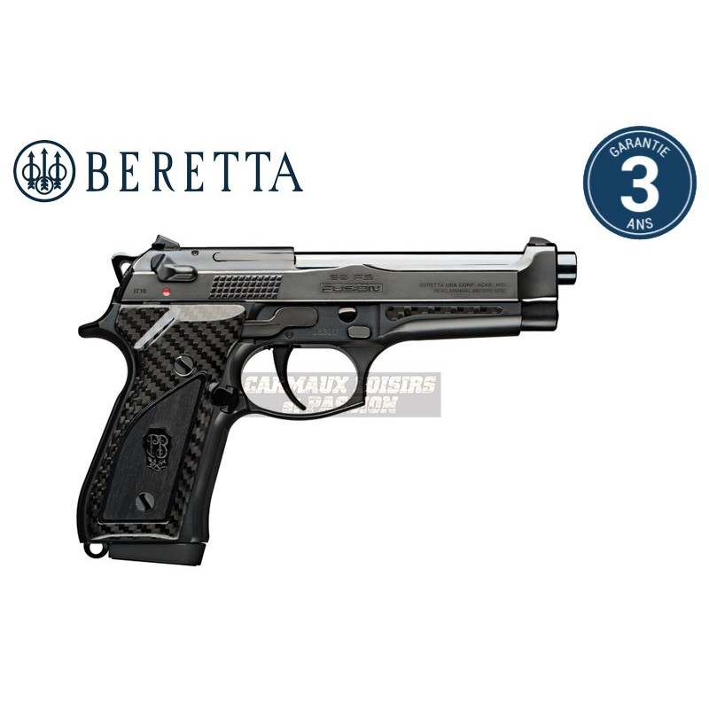 PISTOLET BERETTA 92FS FUSION BLACK