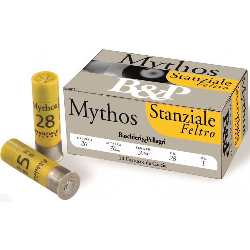 B&P F2 Mythos feltro 28 g cal 20