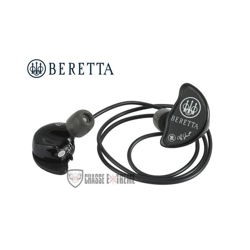 BERETTA PROTECTION AUDITIVE ACTIVE BLUETOOTH NOIR