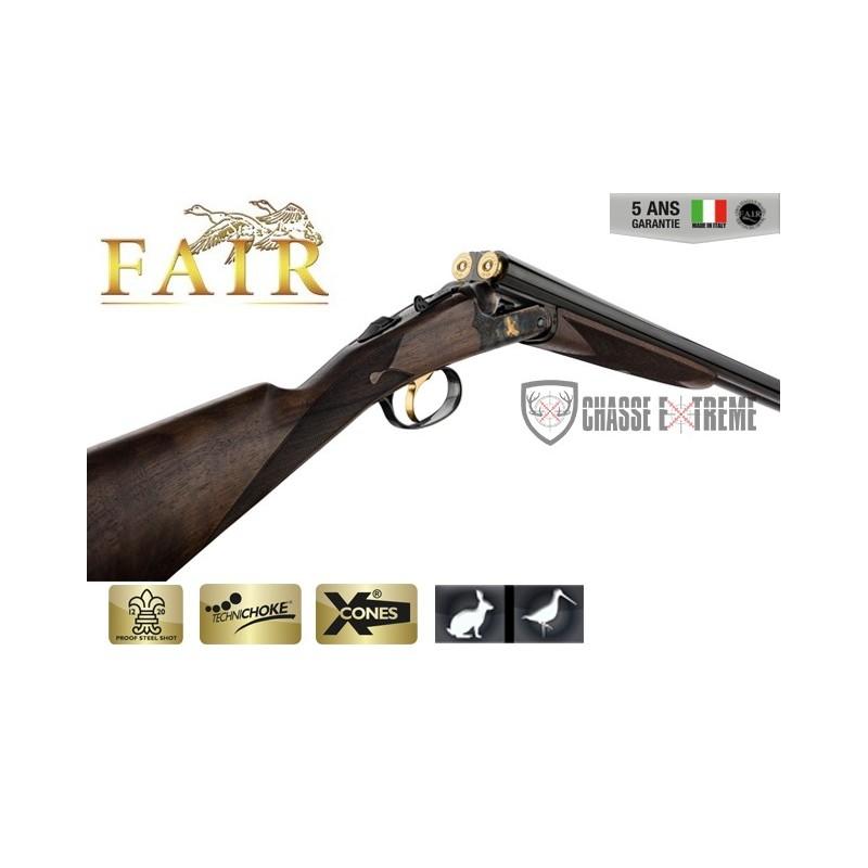 Fusil Fair Juxtaposé Lisse - Extracteur - Acier Jaspé