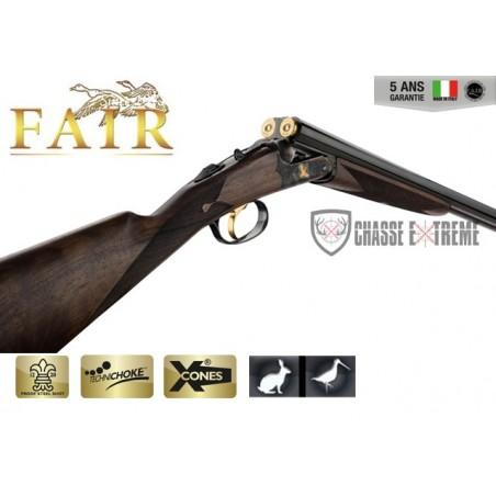 Fusil Fair Juxtaposé Lisse - Extracteur - Acier Jaspé Cal. 28