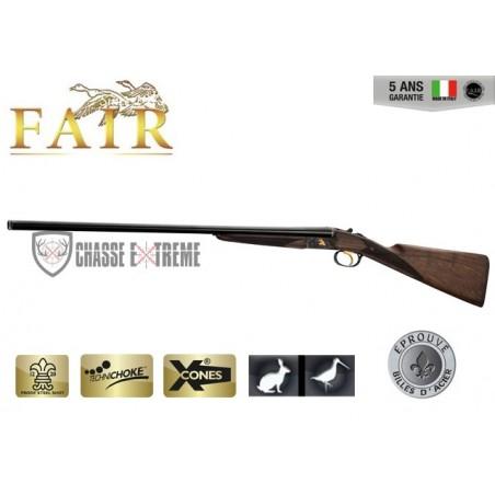 Fusil Fair Juxtaposé Lisse - Extracteur - Acier Jaspé Cal. 20