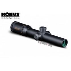 LUNETTE DE TIR 1.5-6X44 KONUSPRO M-30 30MM