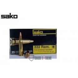 SAKO 222 REM RACEHEAD 52 GR