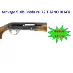 FUSIL BREDA TITANO BLACK & SILVER CAL. 12