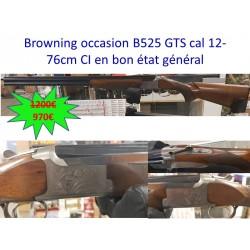 BROWNING OCCASION B525 GTS CAL.12 76 CM CI EN BON ÉTAT GÉNÉRAL