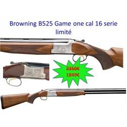 Fusil Browning B525 Game cal 16 Série limité