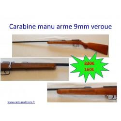 CARABINE MANU ARME 9MM VEROUE