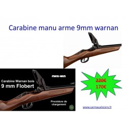 CARABINE MANU ARME 9MM WARNAN