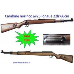 Carabine norinco JW25 replique longue cal 22LR 66 cm