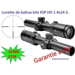 Lunette de battue kite KSP HD 1-4x24 IL