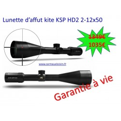 Lunette d'affût kite KSP HD2 2-12x50