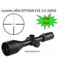 LUNETTE AFFÛT OPTISAN EVE 2.5-10x50