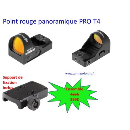 POINT ROUGE PANORAMIQUE PRO T4