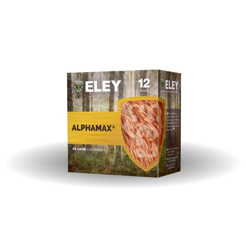 Boîte de 25 cartouches ELEY ALPHAMAX + 34G CAL 12/70