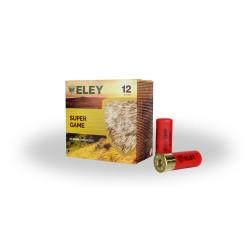 Boîte de 25 cartouches ELEY SUPERGAME PLASTIC 32G CAL 12